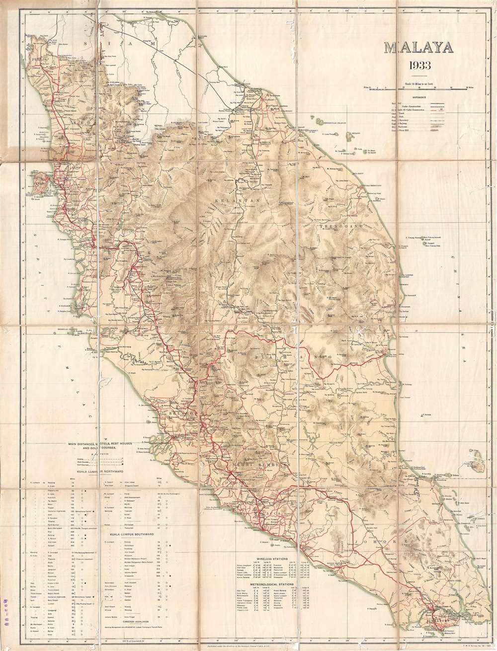 Malaya 1933.