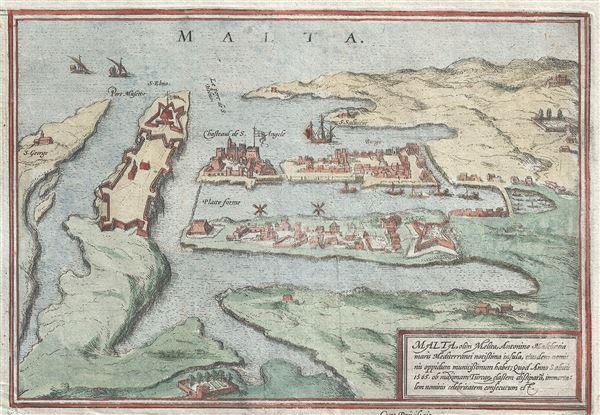 Malta, olim Melita, Antonino Malthacia maris Mediterranei notissima insula, eiusdem nomi nis oppidum munitissimum habet; Quod Anno Salutis 1565. ob maximam Turcar classem dissipata, immorta: lem nominis celebritatem consecutum est.