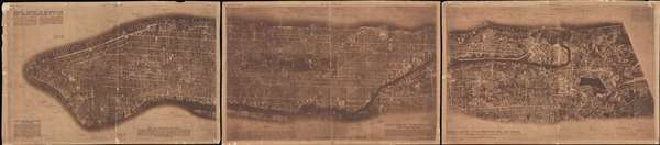 Aerial Survey of Manhattan and the Bronx. - Main View