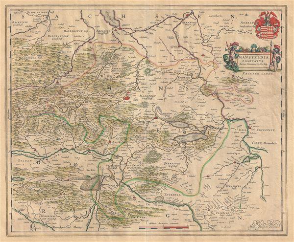 Mansfeldia Comitatus Auctore Tilemanno Stella Sig. - Main View