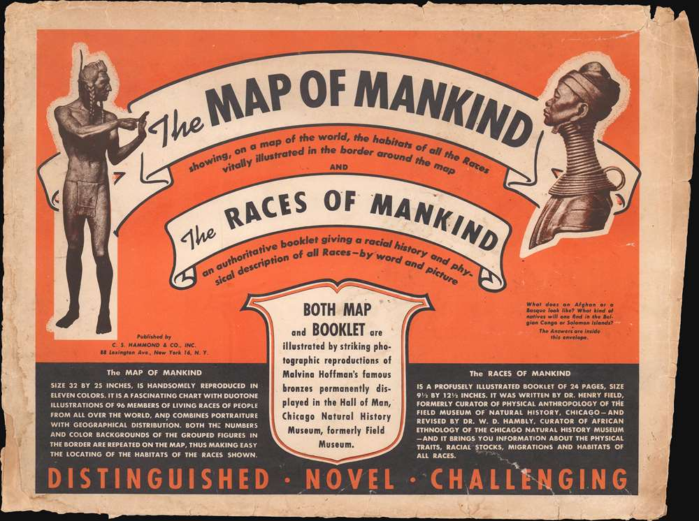 Map of Mankind. - Alternate View 1