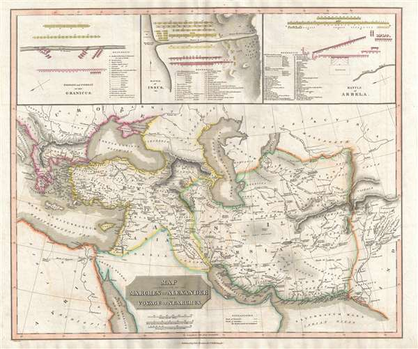 Map Illustrative of the Marches of Alexander and the Voyage of Nearchus