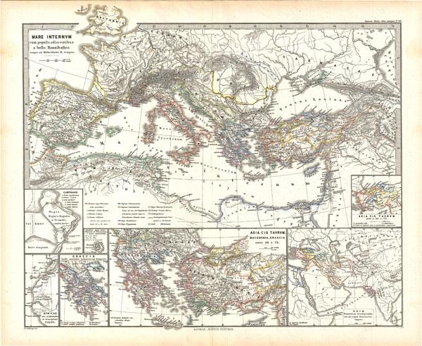 Mare internum cum populis adiacentibus a bello Hannibalico usque ad Mithridatis Magni tempus