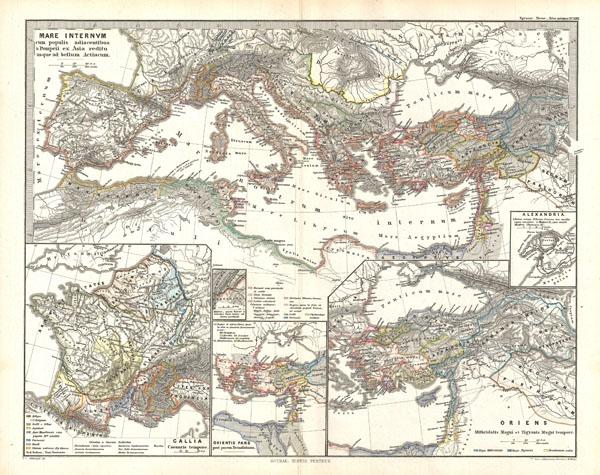 Mare internum cum populis adiacentibus a Pompeii ex Asia reditu usque ad bellum Actiacum