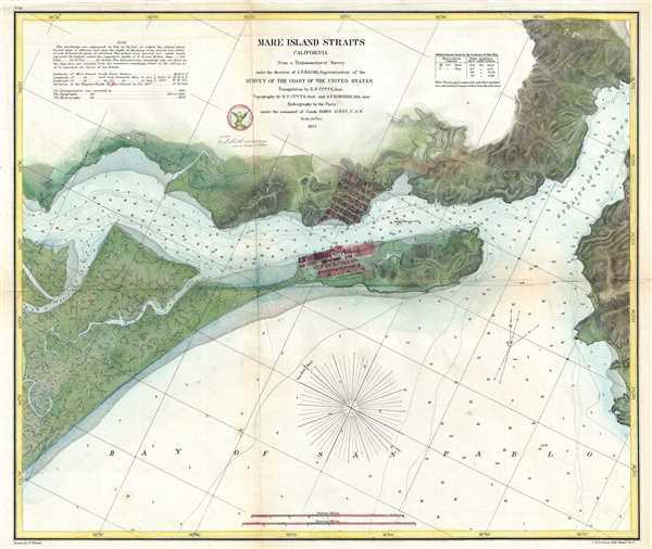 Mare Island Straits California.