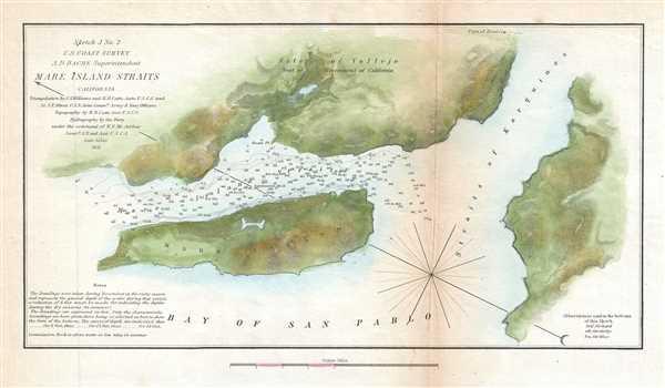 Sketch J No. 2 Mare Island Strait California. - Main View