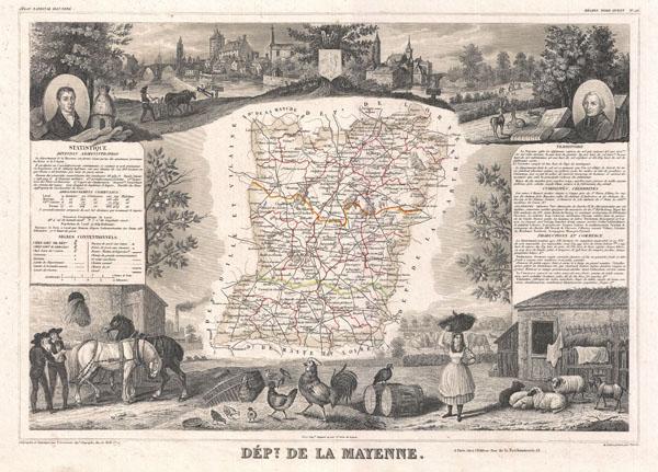 Dept. de la Mayenne.