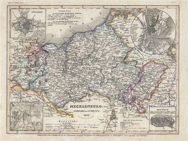 Mecklenburg Schwerin und Strelitz. - Main View