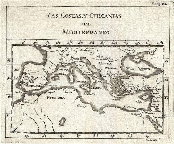 Las Costas, Y Cercanias del Mediterraneo.