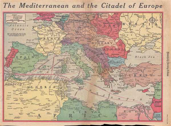 The Mediterranean and the Citadel of Europe. - Main View