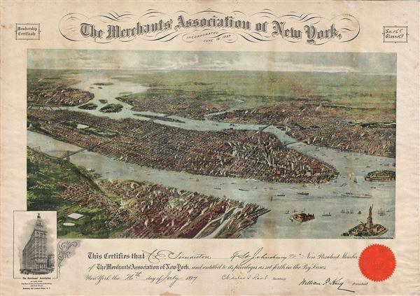 The Merchants' Association of New York. - Main View