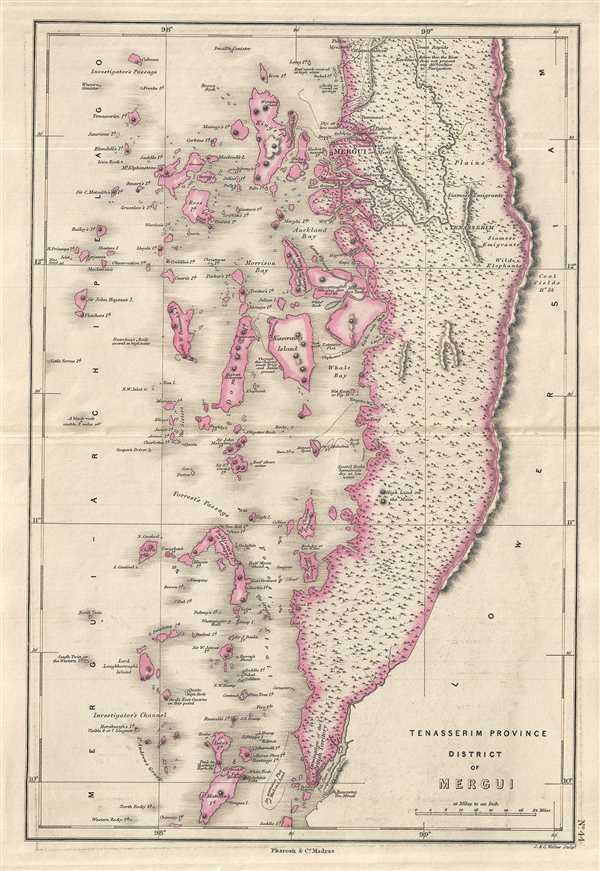 Tenasserim Province, District of Mergui.