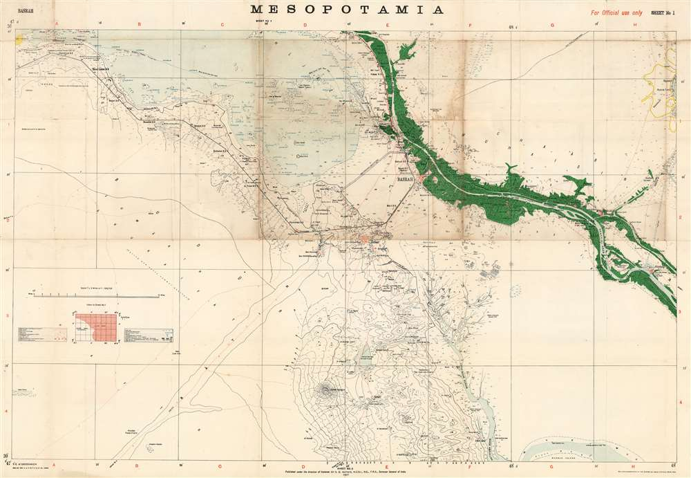 Mesopotamia Sheet No. 4. - Main View