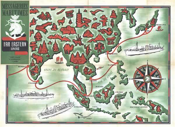 Messageries Maritimes Far Eastern Liners