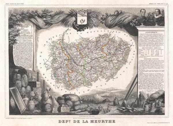 Dept. de la Meurthe.