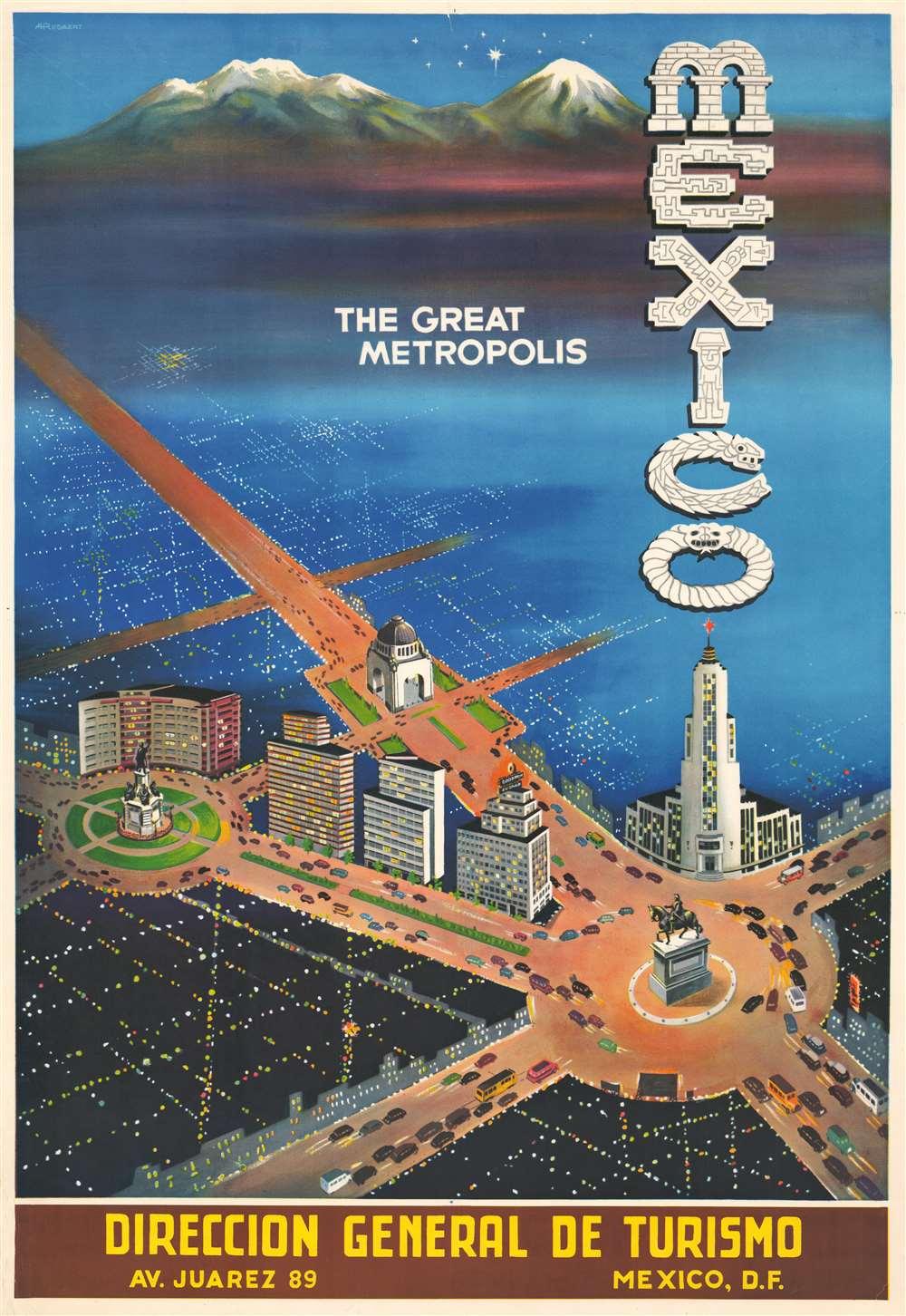 Mexico. The Great Metropolis. - Main View