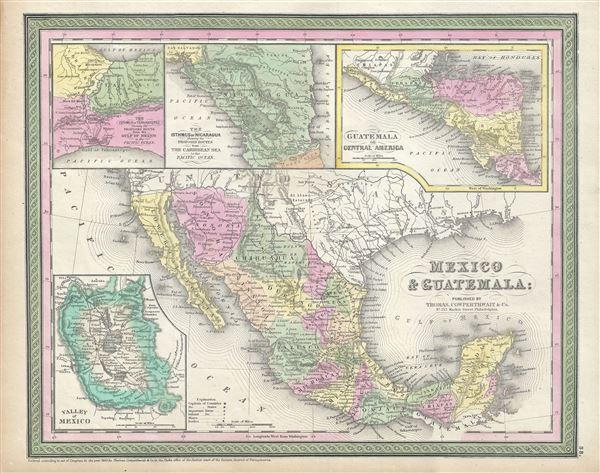 Mexico and Guatemala. - Main View