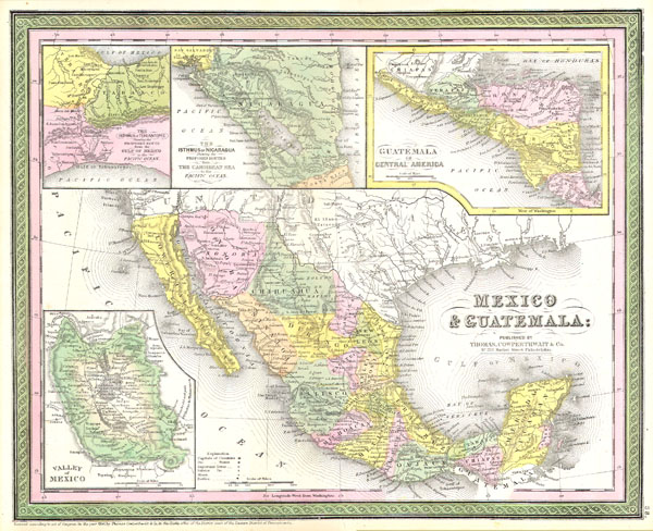 Mexico & Guatemala. - Main View