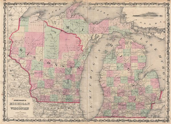 Johnson's Michigan and Wisconsin.
