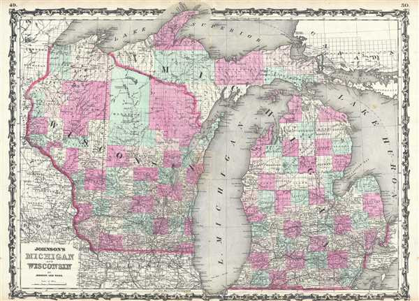 Johnson's Michigan and Wisconsin.