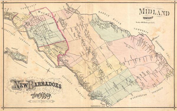 New Baradoes Township. Midland Township.