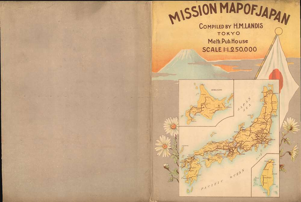 Mission Map of Japan. - Alternate View 1