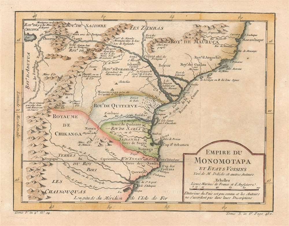 Empire du Monomotapa et Etats Voisins. - Main View
