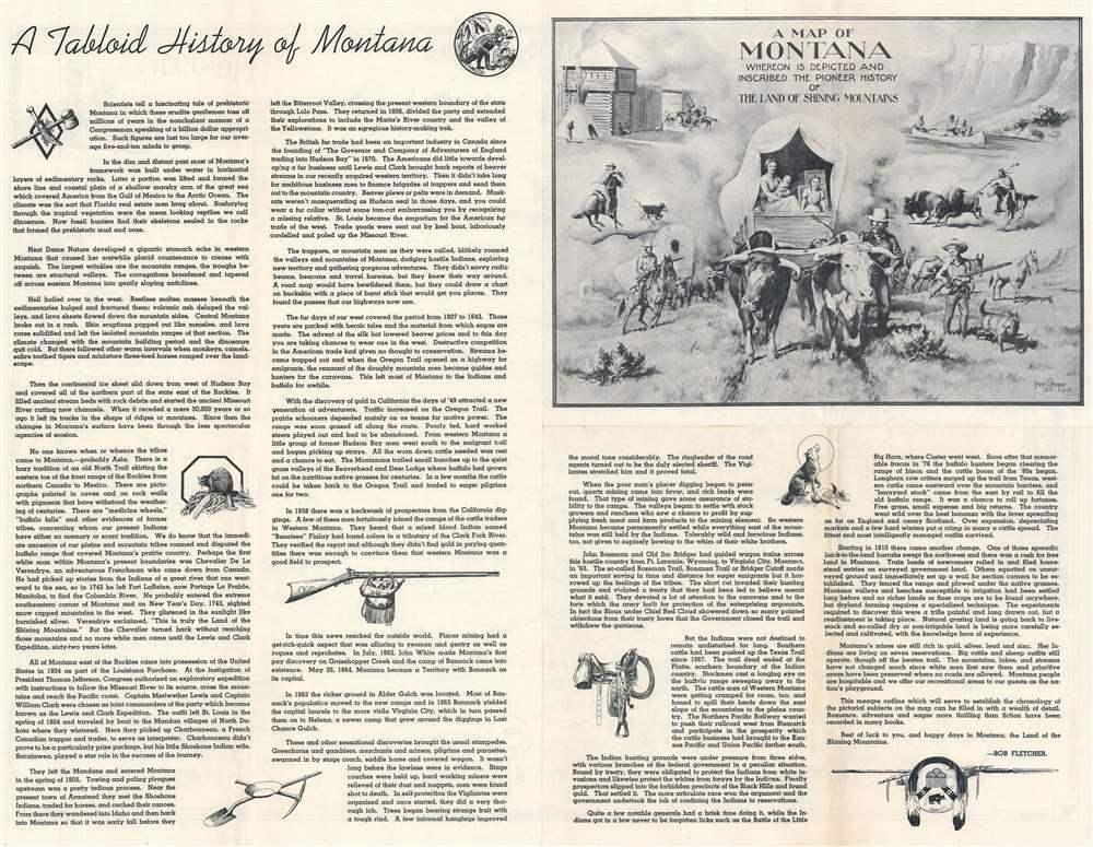 Montana. Frontier. Pioneer. - Alternate View 1