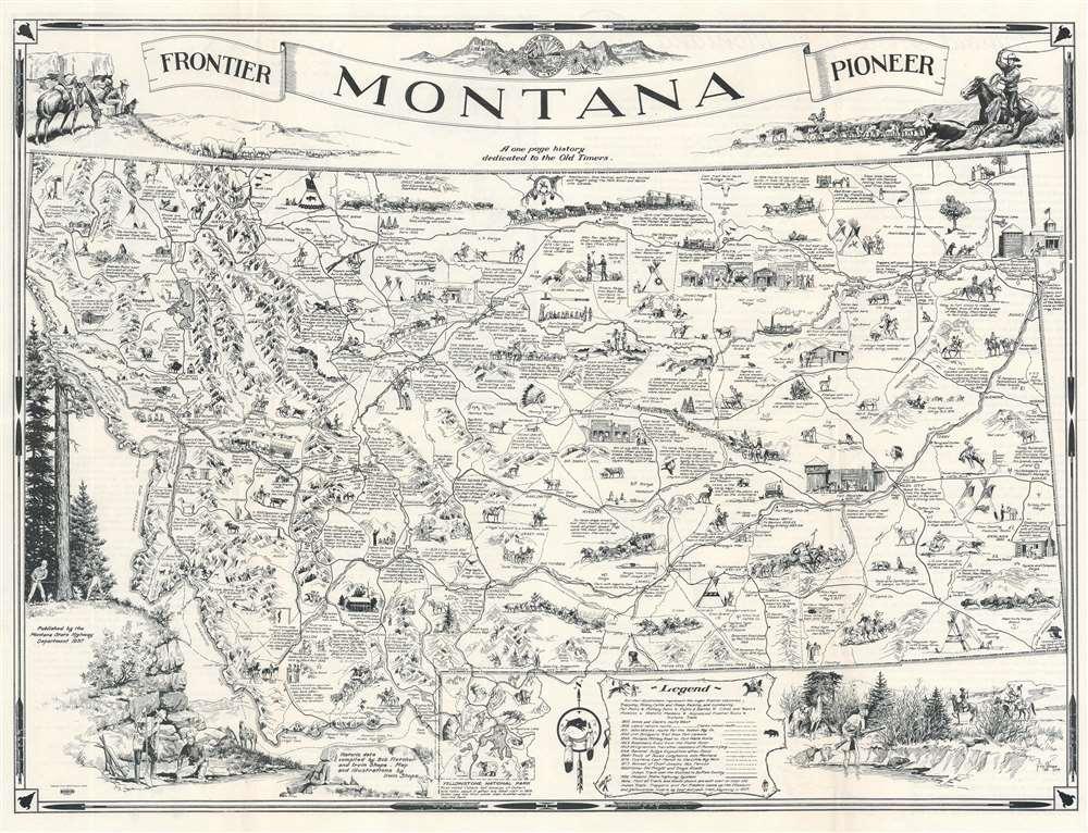 Montana. Frontier. Pioneer. - Main View