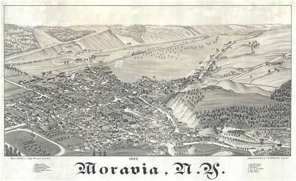 Moravia, N.Y.