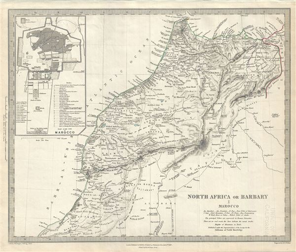 North Africa or Barbary I Morocco.