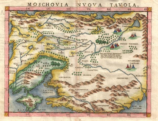 Moschovia Nvova Tavola. - Main View