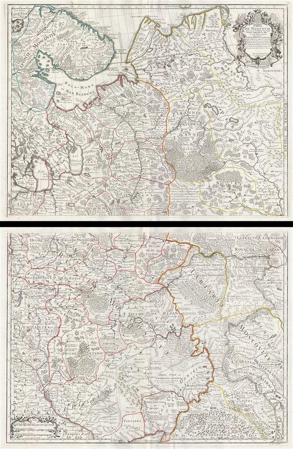 Carte de Moscovie.