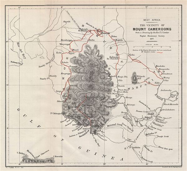 West Africa.  The Vicinity of Mount Cameroons. - Main View
