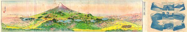 Mt. Fuji and the Five Lakes. - Main View