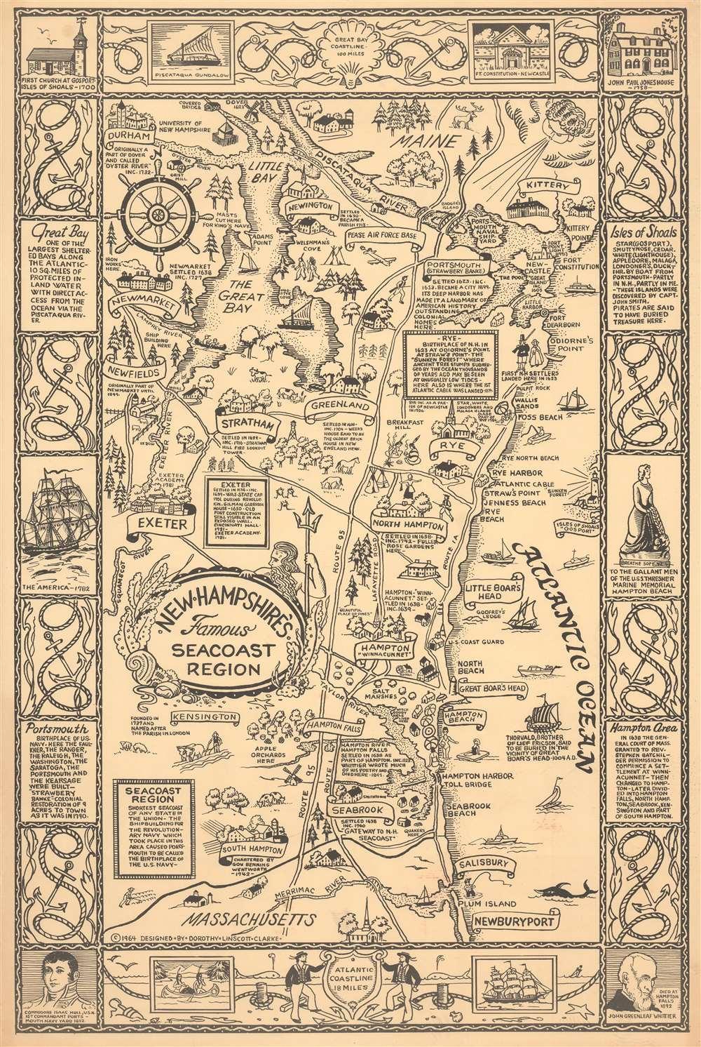New Hampshire's Famous Seacoast Region. - Main View
