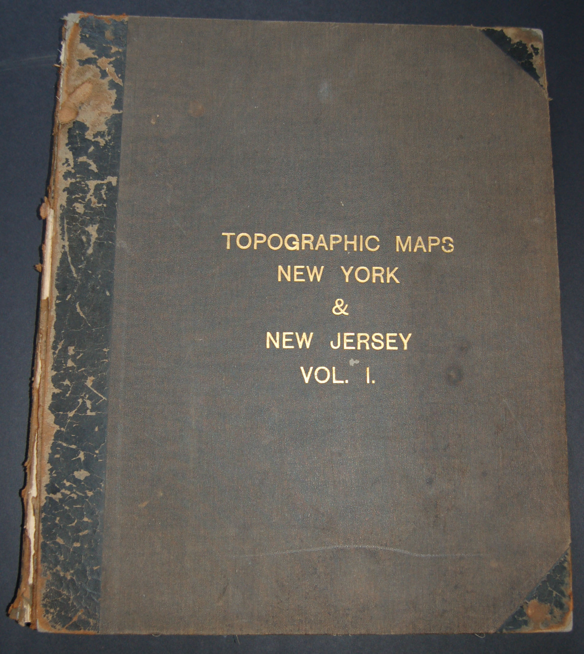 Topographic Maps New York & New Jersey Vol. 1
