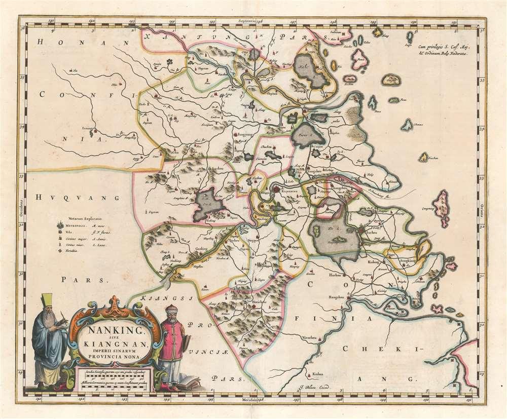 Nanking Sive Kiangnan, Imperii Sinarum Provincia Nona.