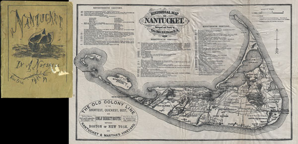 Historical Map of Nantucket. - Main View