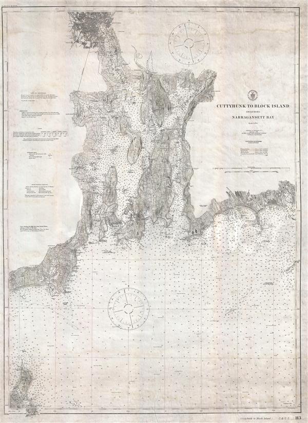 Cuttyhyunk to Block Island including Naragansett Bay.
