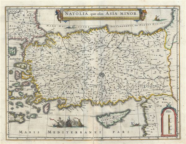 Natolia, quae olim Asia Minor.