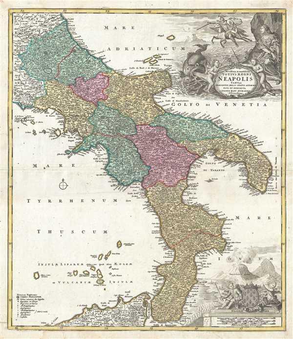 Novissima et exactissima Totius Regni Neapolis. - Main View