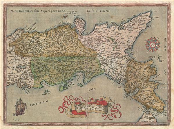 Regni Neapolitani Verissima Secundum Antiquorum et Recentiorum Traditionem Descriptio, Pyrrho Ligorio Acut.