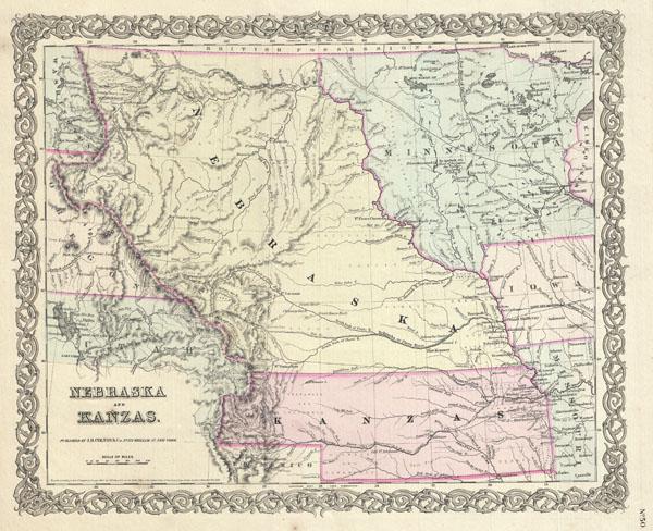 Nebraska and Kansas. - Main View