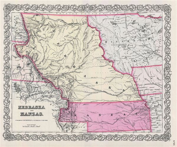 Nebraska and Kanzas.