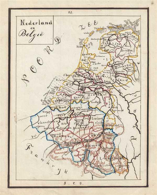 Nederland en Belgie.