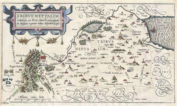 Tribus Neptalim videlicet, ea Terrae Sanctae pars, quam in divisione regionis tribus Neptalim accepit.