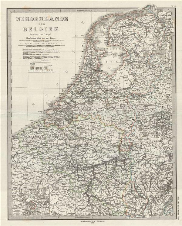 Niederlande und Belgien.