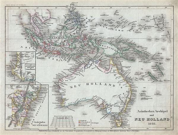 Asiatische Archipel und Neu Holland.