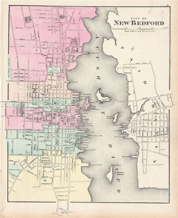 City of New Bedford. - Main View
